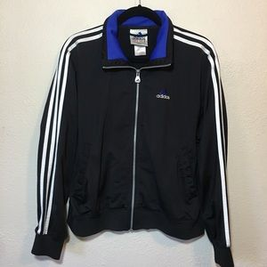 Adidas Track Jacket Black zip up